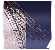 Windmill blade - Aspa de Molino- (Campo de Criptana) Poster