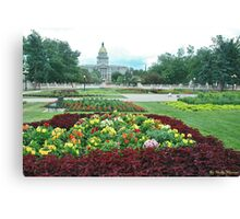 Colorado Capital Canvas Print