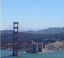 Golden Gate Scenery by Noblesteed1a