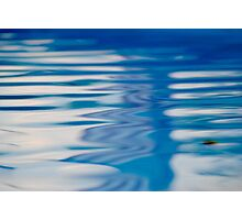 Abstracts of liquid Photographic Print