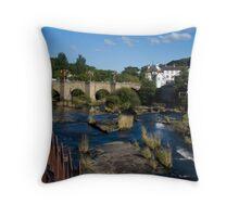 Llangollen, N. Wales Throw Pillow