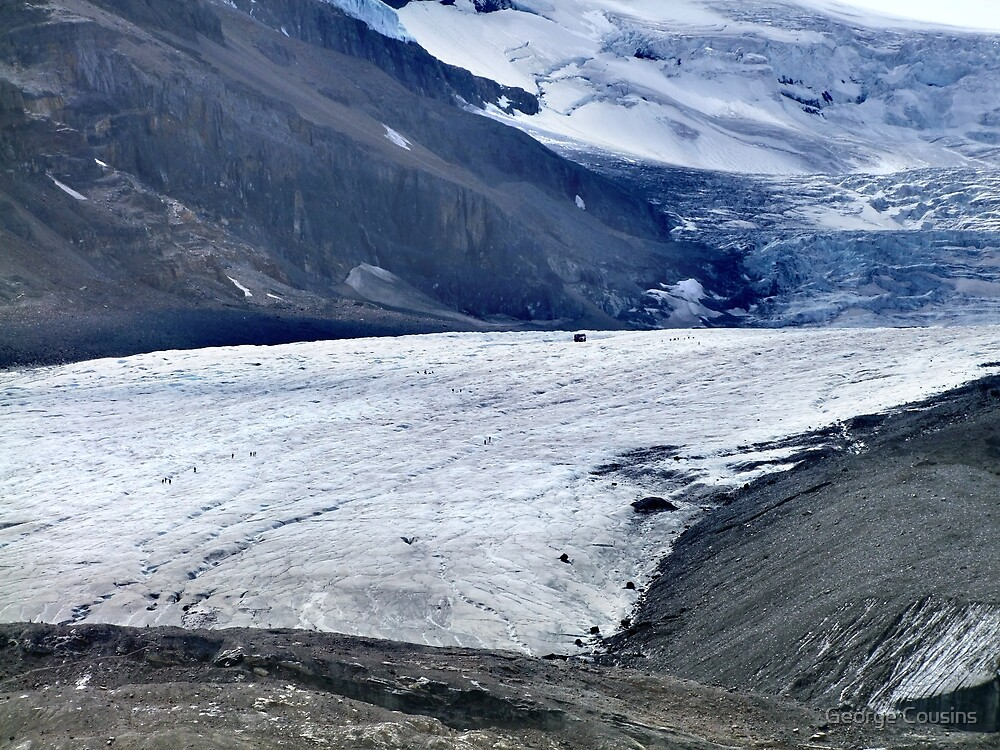 Athabasca Glacier (1) by George Cousins