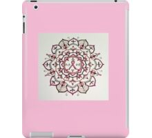 Pink Ribbon Mandala iPad Case/Skin