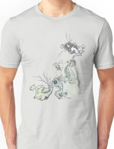 in the future there are definitely no bird baths ... Unisex T-Shirt
