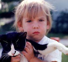 My Son Jon the Cat Lover !  by Stephen Homer