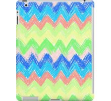 Pastel Sketch Zig Zag Chevron iPad Case/Skin