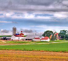 Wisconsin Farm by ECH52