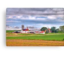 Wisconsin Farm Canvas Print