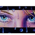 """""""Blue Blue Rain..."""" by Tamara Geddes"""