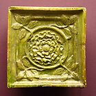 15th century stove tile by Kiriel