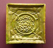 15th century stove tile by Kiriel