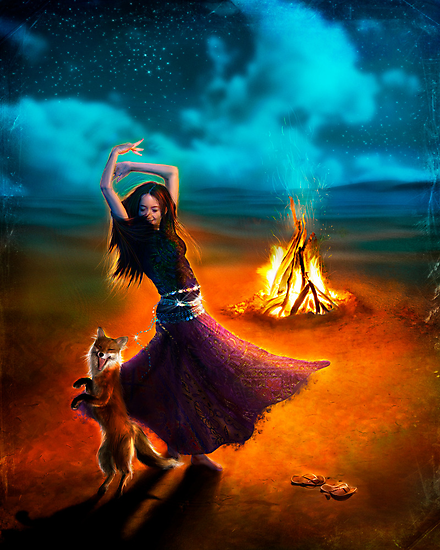Dance Like a Dervish II by Aimee Stewart