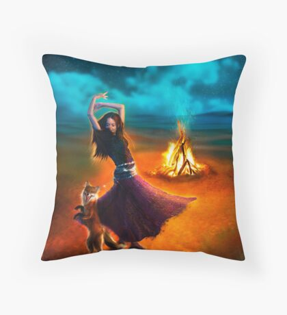 Dance Like a Dervish II Throw Pillow