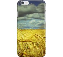 THE GOLDEN FIELD  iPhone Case/Skin