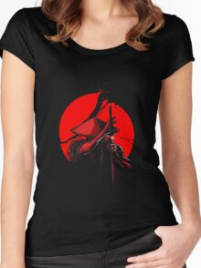 Samurai Slice Women's Fitted Scoop T-Shirt