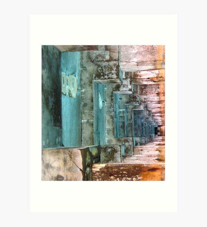 Corridor To Infinity Art Print