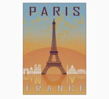 Paris vintage poster One Piece - Short Sleeve