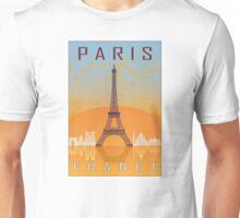 Paris vintage poster Unisex T-Shirt
