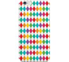Rainbow Harlequin Pattern  iPhone Case/Skin