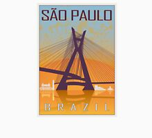 Sao Paulo vintage poster Unisex T-Shirt