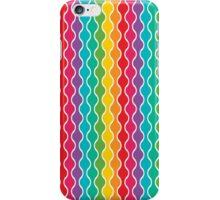 Wavy Rainbow  iPhone Case/Skin