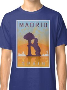 Madrid vintage poster Classic T-Shirt