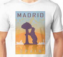 Madrid vintage poster Unisex T-Shirt