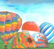 balloons by Leeanne Middleton