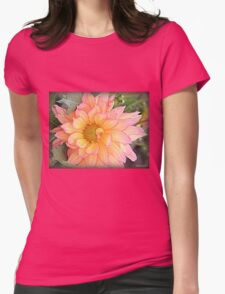 Dahlia Days Womens Fitted T-Shirt