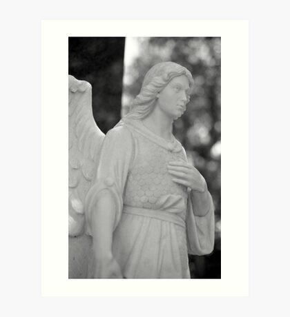 Angelic Strength Art Print
