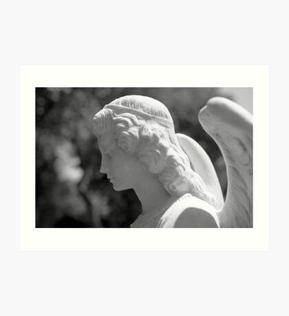 The Gaze of an Angel Art Print