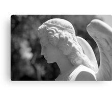 The Gaze of an Angel Canvas Print