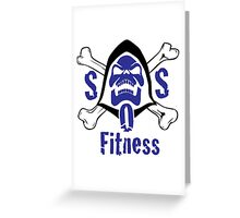 fitness Greeting Card