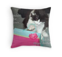 Oreo- Birthday Gift Throw Pillow