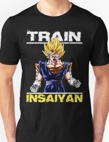 Train insaiyan Songoku (Black Version) T-Shirt