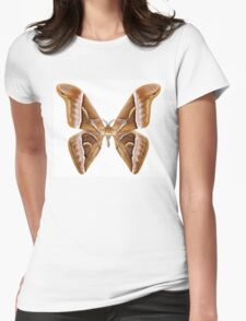 Butterfly moth species Samia kohlii Womens Fitted T-Shirt