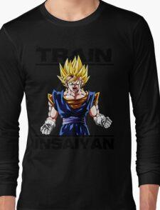 Train insaiyan Songoku (White Version) Long Sleeve T-Shirt
