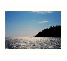 """at peace with the Bay Of Fundy"" Art Print"