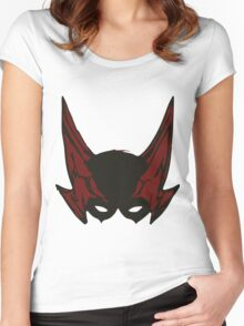 Zetman Mask Women's Fitted Scoop T-Shirt