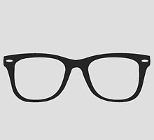 Hipster Glasses - Straight by tehks