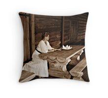 Lady Finlandia Throw Pillow