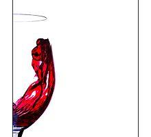 Half a Wine Glass by Victor Sinden
