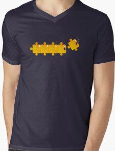Puzzlefish Mens V-Neck T-Shirt