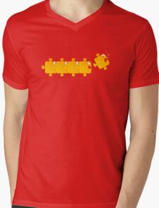Puzzlefish Mens V-Neck T-Shirt