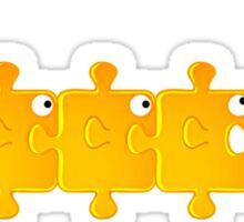 Puzzlefish Sticker
