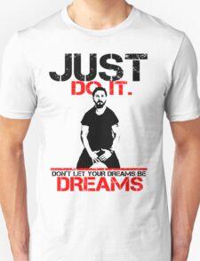 Shia Labeouf Dreams (White Version) T-Shirt
