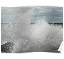 High Tide - and the Waves are Picking Up! Poster