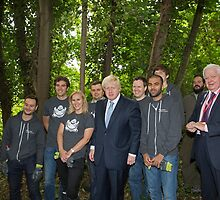 London Mayor Boris Johnson visits new kids' adventure centre in Bexley by Keith Larby