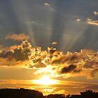September sunset by patticake