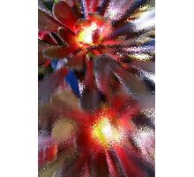 Floral Rendering Photographic Print
